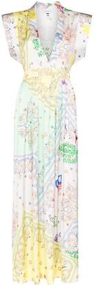 Mira Mikati Paisley-Print Dress