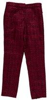 Tory Burch Tweed Straight-Leg Trousers