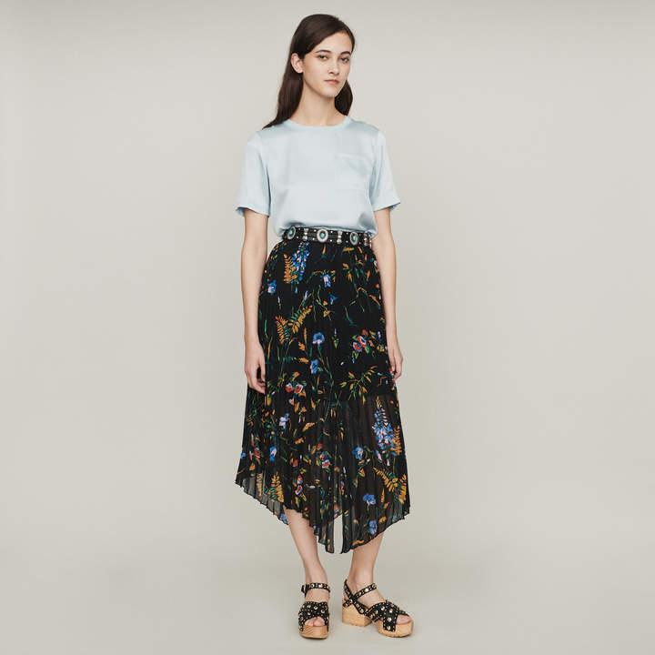 bb97494c6 Maje Black Pleated Dresses - ShopStyle