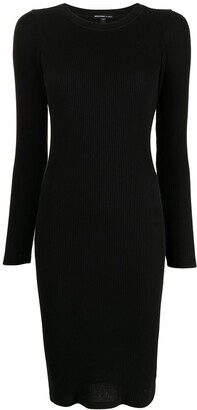 James Perse Ribbed Knit Sweater Dress