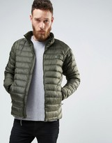 The North Face Trevail Down Quilted Jacket In Green