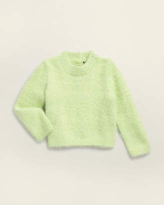 Bardot Infant Girls) Fuzzy Long Sleeve Sweater