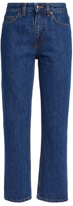 The Row High-Rise Cropped Christie Jeans