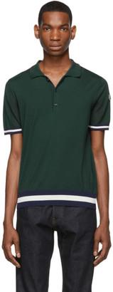 Moncler Green Jersey Polo