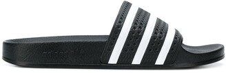 adidas Adilette striped slides