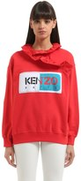 Kenzo Memento Ruffled Light Cotton Sweatshirt