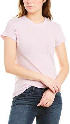 IRO Strand Silk & Linen-Blend T-Shirt