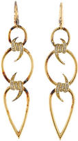 Stephen Webster Diamond Barbed Wire Earrings