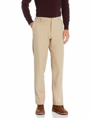Savane Men's Shield Flat Front Chino Pant