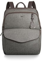 Tumi 'Sinclair Harlow' Coated Canvas Laptop Backpack - Grey