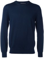 Alexander McQueen crew neck jumper - men - Wool - L