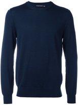 Alexander McQueen crew neck jumper - men - Wool - M