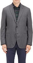 Luciano Barbera MEN'S PLAIN-WEAVE TWO-BUTTON SPORTCOAT