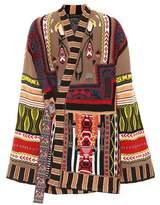 Etro Wool-blend intarsia coat