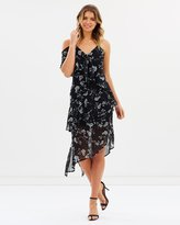 Bardot Bloom Ruffle Dress