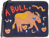 Lizzie Fortunato Bull Safari Clutch