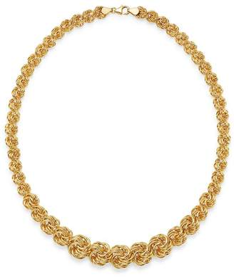 "Bloomingdale's Graduated Link Necklace in 14K Yellow Gold, 18"" - 100% Exclusive"