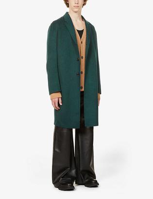 Acne Studios Chad notch-lapels wool coat