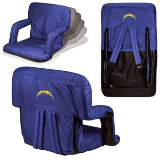 Picnic Time NFL Los Angeles Chargers Ventura Reclining Stadium Seat