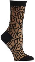 Ozone Women's Sheer Circuitry Socks