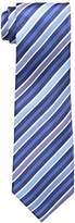 Countess Mara Men's Lockport Stripe 100% Silk Tie
