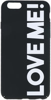 Stella McCartney Love Me! iPhone 6 case - women - Acrylic - One Size
