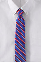 Classic Men's Silk Texture Bar Stripe Necktie-Sable