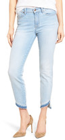 7 For All Mankind Ankle Straight Leg Jeans (Ocean Breeze)