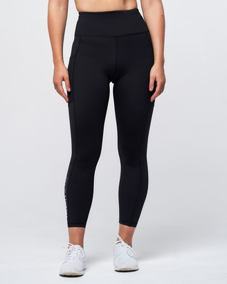 Treball Active - Women's Black Tights - Cleo Leggings - Size One Size, 6 at The Iconic