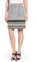 BOSS Women's Vemala Stripe Boucle Suit Skirt
