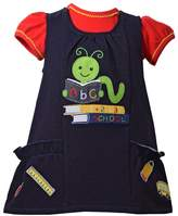 Bonnie Jean Baby Girl Bookworm Jumper & Bodysuit Set
