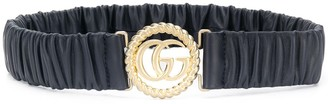 Gucci Logo Buckle Elasticated Belt