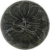 Gien Set of 2 Reliefes Pepper Canapé Plates - Black