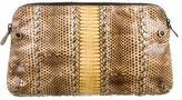Bottega Veneta Snakeskin clutch