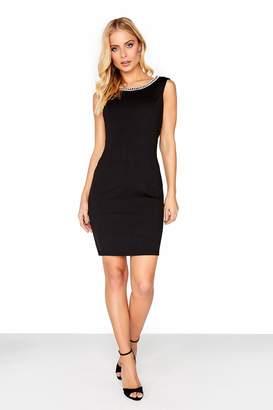 Little Mistress Black Beaded Dress