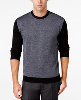 Ryan Seacrest Distinction Men's Colorblocked Houndstooth Sweater, Only at Macy's