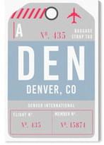 Oliver Gal Denver Luggage Tag Wall Art