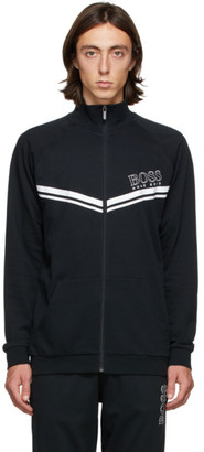HUGO BOSS Black Authentic Zip-Up Sweater