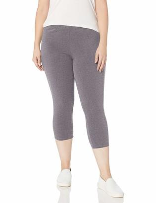 Just My Size Women's Plus-Size Stretch Jersey Capri