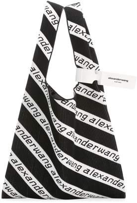Alexander Wang Large Knit Jacquard Shopper