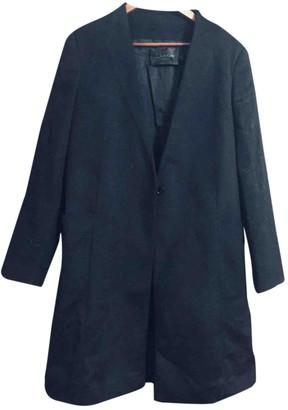 Calvin Klein Black Cashmere Coat for Women