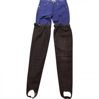 Maison Margiela Grey Denim - Jeans Trousers for Women