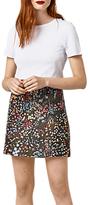 Warehouse Wild Garden Jacquard Skirt, Multi