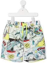 Stella McCartney Josh print swimshorts