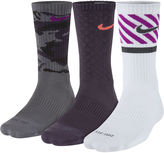 Nike 3-pk. Mens Dri-FIT Triple Fly Crew Socks - Big & Tall