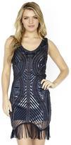 Jolene Collection - 17577 Embellished Scoop Sheath Dress