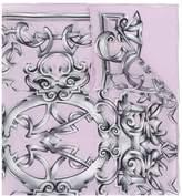 Versace Heritage Barocco print scarf