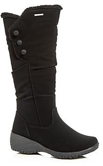 Khombu Women's Amy Waterproof Cold-Weather Wedge Boots