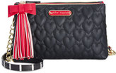 Betsey Johnson Tassel Crossbody, Only At Macy's