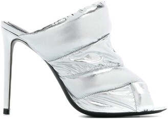 Nicholas Kirkwood Metallic High Heel Sandals